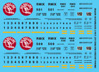 HO Scale - Omaha Lincoln Beatrice Covered Hopper 2 Bay ACF Decal