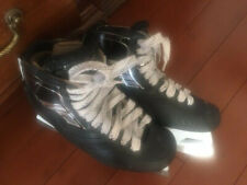 Vh/True Two Piece Goalie Skates Size 8 New Holders and Steel