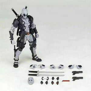 Hot Kaiyodo Revoltech Amazing Yamaguchi X-Force Deadpool Figure Toy New No Box