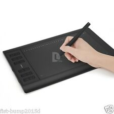 """Huion 1060 Pro+ 10"""" x 6.25"""" Drawing Graphics Tablet Board + Digital Pen US stock"""