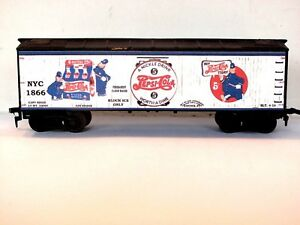 HO Scale Custom Lettered OLD TIME PEPSI COLA Freight car Reefer Lot A