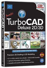 Avanquest Turbocad Deluxe En 2d Y 3d: precisión 2d redacción y modelización en 3D (Pc)