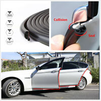 196'' Rubber Car Door Rear Trunk Engine Edge Protect Sealing Strip Weatherstrip