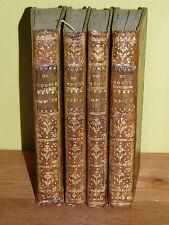 Emile, ou de l'éducation, Rousseau, 1770 (4vol/4), planches, rare