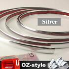 30mm Chrome Silver Moulding Trim Strip Car Caravan Truck Scratch Guard Line 12M