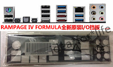 NEW Original io i/o shield backplate for ASUS RAMPAGE IV FORMULA/R4F #T1373 YS
