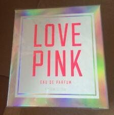 Victoria secret LOVE PINK 1.7 oz eau de parfum spray new sealed DISCONTINUED