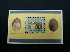 Cayman Islands Golden Wedding 1997 Souvenir Sheet #1003 - Free Shipping