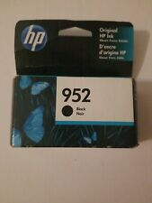 HP 952 Ink Cartridge Black NEW Genuine 08 20