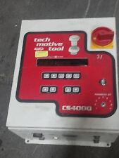 GSE SERVO CS4000 NUTRUNNER TOOL TORQUE CONTROLLER TECH MOTIVE MONITOR PROGRAMMER