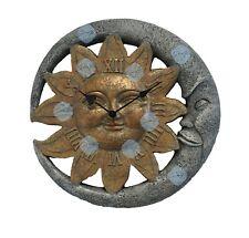 ? Wanduhr Sonne & Mond ? dekorativ ? römische Ziffern ?