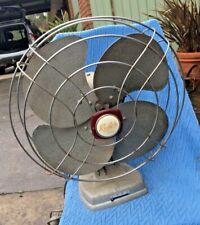 Vintage Retro Revelair 3-Speed Oscillating Fan 30cm Diameter Goes Well