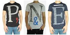 JACK & JONES Bequeme Sitzende Unifarben Herren-T-Shirts mit Rundhals