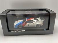 1:43 Minichamps 1979 BMW M1 Works Procar Andretti Part # 80420309422 BMW Package