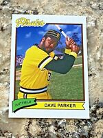 2020 Topps X Super 70's Baseball Dave Parker #32 Pittsburgh Pirates MLB Card