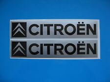 Citroen Oblong Racing Autocollant Voiture