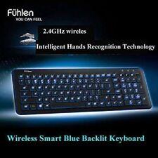 Wireless Bluetooth Led Illuminated LED Backlight Keyboard for Tablet PC Laptop