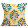 Vintage Geometric Floral Cotton Throw Pillow Case Cushion Cover Home Sofa Decor