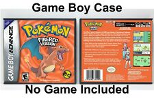Pokemon Fire Red Version - Game Boy Advance GBA Case - *NO GAME*