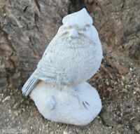 Latex only cardinal / blue jay bird mold plaster concrete casting garden mould