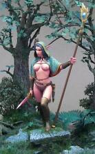 "TARTAR MINIATURES 75-01 ""The Elven Sorceress"" 75mm fantasy"