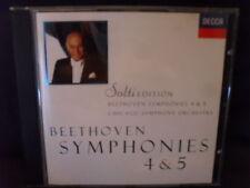 Beethoven - Symphonies No.4 & 5 -Solti / CSO