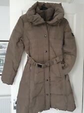 Cappotto Invernale monnari da Donna Color Cachi Marrone tasca con zip EUR 40
