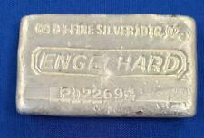 Engelhard 10 ozt .999 Fine Silver Loaf Bar P022694