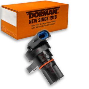 Dorman Rear Center ABS Wheel Speed Sensor for 1994-1997 Dodge Ram 1500 xe