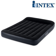 INTEX Classic Pillow Full Luftbett 191x137x25cm + 230V Pumpe Gästebett Bett