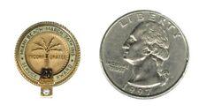 Miami Beach Service Award - 20 Years - 10K Gold Lapel Pin