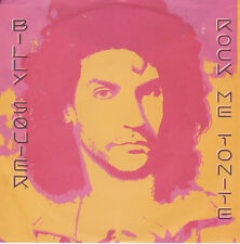 BILLY SQUIER Rock Me Tonite / Can't Get Next To You - 45
