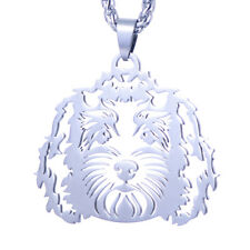 Stainless Steel Labradoodle Labrador Poodle Pet Dog Id Tag Collar Charm Pendant