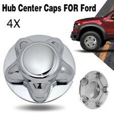 """4X 7"""" Center Cap Expedition Hub Wheel Chrome For 1997-2003 Ford F150 F-150"""