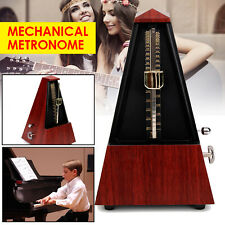 Mechanical Metronome Wind Up Musical Tempo Timer for Piano Guitar Bass Antique