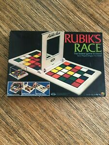 S2 Vintage 1982 Rubiks Race Game Ideal Toy Corp Rubiks Cube Board Game Original