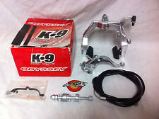 Rare NOS Odyssey K-9 FRONT / REAR BRAKE CALIPER, LEVER & CABLE Old School BMX