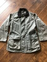 Banana Republic Field Jacket Green Medium M Vented Hunting Coat