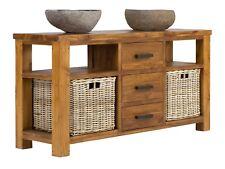 Badmöbel Waschtisch Waschbeckenunterschrank massiv Holz Möbel neu MASJA