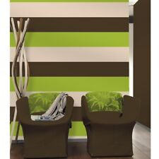 3 Stripe Colour Pattern Textured Brown Green Cream Wallpaper Direct Wallpapers