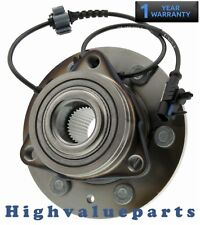 Front Wheel Bearing & Hub Assembly Chevy Silverado 1500 Escalade Yukon Tahoe 4x4