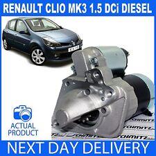 STARTER MOTOR FITS RENAULT CLIO III/MK3 2005-2013 1.5 dCi DIESEL K9K NON S/S
