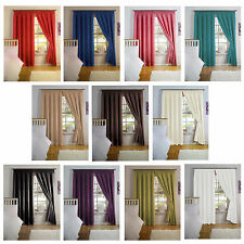 Simply Style Thermal Backed Pencil Pleat Curtain Pairs-Light Reducing Properties