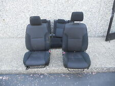05 06 07 10 Scion TC Left Right Front Back Seat Manual Set Black Cloth #O topsh