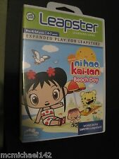 nihao kai-lan Beach Day Game Cartridge works with Leapster & Leapster 2