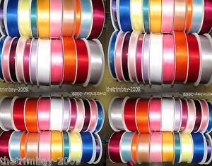 Quality Double Satin Ribbon All Widths Available