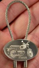 Kreidler Florett K 54 Schlüsselanhänger K54 Fotogravur Keyring Bildgravur Moped