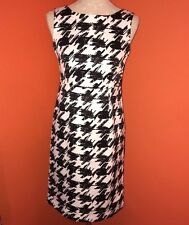 Women's LIMITED EDITION for Target B&W Houndstooth Dress Lowback Sheath