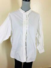 J JILL White Kimono Shirt - Topper - XLP Petite