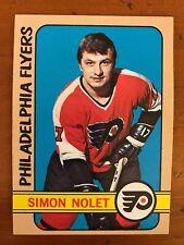 1972/73 Topps Hockey Card #26 Simon Nolet Philadelphia Flyers EX/MT